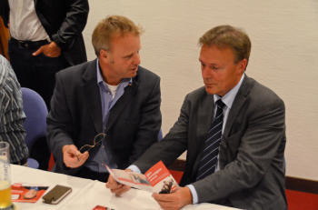 Klaus Becker und Thomas Oppermann