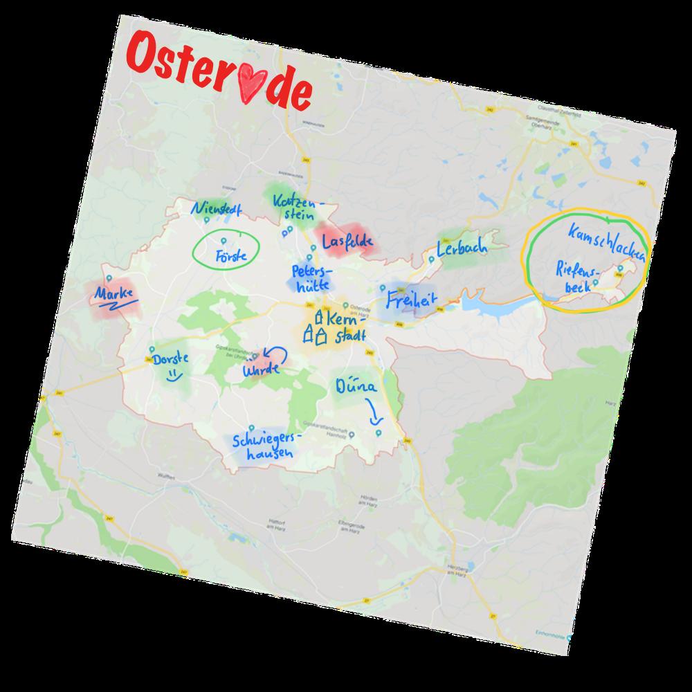 Unsere Ortschaften