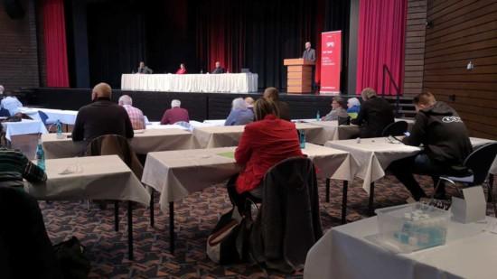 Mitgliederversammlung zur Aufstellung der Kommunalwahllisten