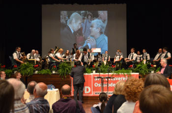 Begrüßung der Schwiegershäuser Feuerwehrkapelle