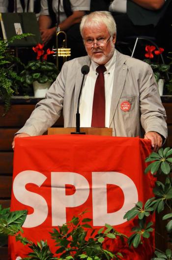 Ortsvereinsvorsitzender Peter Wendlandt