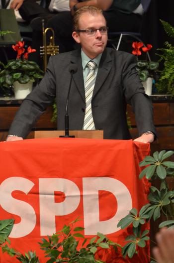Sascha Schwerin, Ortsvereinsvorsitzender Herzberg