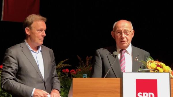 Sigmar Gabriel und Wolfgang Dernedde